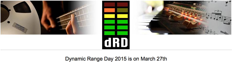 Dynamic Range Day 2015